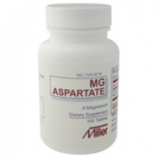 Mg Aspartate 100 tablets - 3 Pack