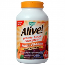 Alive! Max Potency, No Iron Added