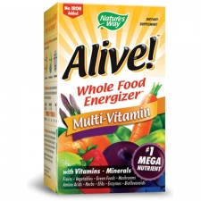 Alive! Multi-Vitamin (No-Iron Added)