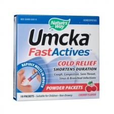 Umcka ColdCare FastActives (Cherry)