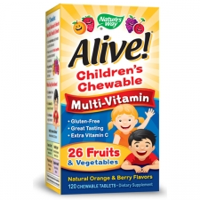 Alive! Children's Multi-Vitamin Chewable