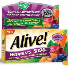 Alive! Women's 50 Multivitamin - Multimineral