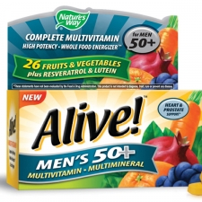 Alive! Men's 50 Multivitamin - Multimineral