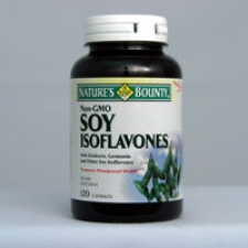 Soy Isoflavones (Non GMO) 750mg 120 Capsules Each - 3 Pack
