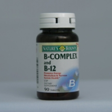 B-Complex and B-12 90 Tablets Each - 3 Pack