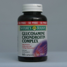 Glucosamine Chondroitin Complex Capsules 50 Free Capsules Each - 3 Pack