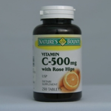 C-500mg with Rose Hips 250 Tablets Each - 3 Pack