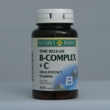Super B-Complex C Time Release 100 Tablets Each - 3 Pack