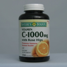 C-1000mg with Rose Hips 250 Tablets Each - 3 Pack