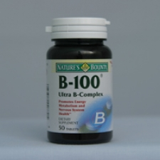 B-100 50 Tablets Each - 3 Pack