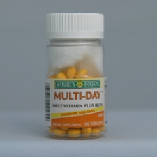 Multi-Day Plus Iron 100 Tablets Each - 3 Pack