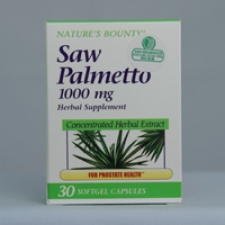 Saw Palmetto Extract 1000mg Softgels 30 Softgels Each - 3 Pack