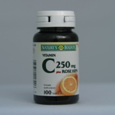 C-250 with Rose Hips 100 Tablets Each - 3 Pack