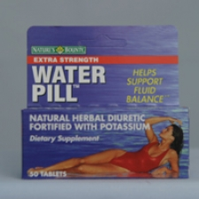 Water Pill Extra Strength 50 Tablets Each - 3 Pack