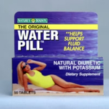 Water Pill with Potassium 50 Tablets Each - 3 Pack