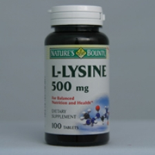 L-Lysine 500mg 100 Tablets Each - 3 Pack