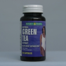 Green Tea Extract - Natural - 50 Capsules Each - 3 Pack