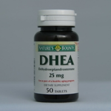 DHEA 25mg 50 Tablets Each - 3 Pack