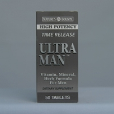 Ultra Man Time Release 50 Tablets Each - 3 Pack