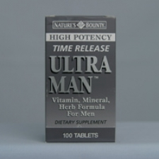 Ultra Man Time Release 100 Tablets Each - 3 Pack
