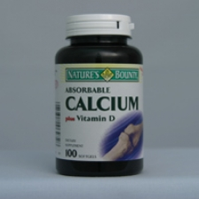 Calcium 60 Tablets Each - 3 Pack