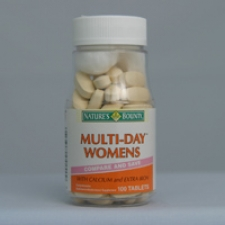 Multi-Day Woman's with Calcium and Extra Iron 100 Tablets Each - 3 Pack