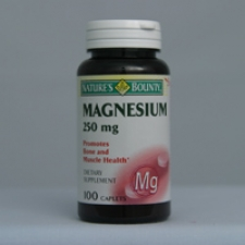 Magnesium 250mg (Oxide) 100 Tablets Each - 3 Pack