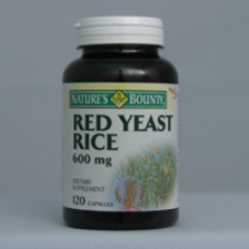 Red Yeast Rice 120 Capsules Each - 3 Pack