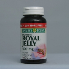 Royal Jelly 500mg 75 Softgels Each - 3 Pack