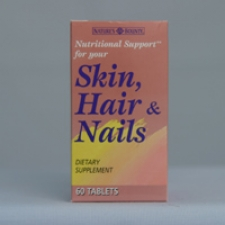 Skin,Hair and Nails 60 Tablets Each - 3 Pack