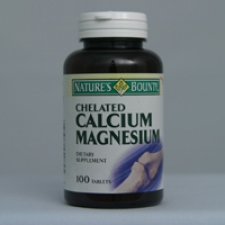 Calcium Magnesium (Cal/Mag) Citrate 100 Tablets Each - 3 Pack