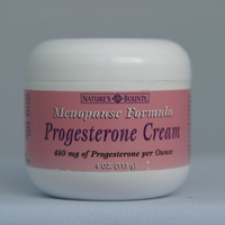Progesterone Cream - Menopause Formula 480mg of Progesterone per Ounce 4 oz Each - 3 Pack