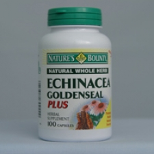 Echinacea/Golden Seal 100 Capsules Each - 3 Pack