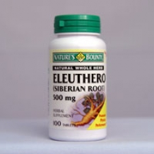 Eleuthero - Siberian Ginseng 500mg 100 Tablets Each - 3 Pack