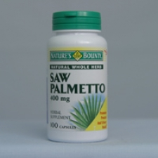 Saw Palmetto 450mg 100 Capsules Each - 3 Pack
