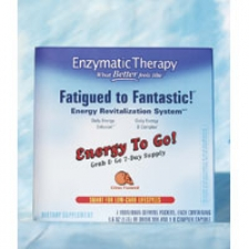 Fatigued to Fantastic! Energy to Go Citrus Travel Pack