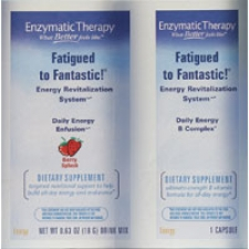 Fatigued to Fantastic! Energy to Go Berry Travel Pack