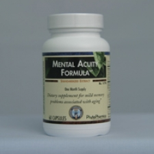 Mental Acuity Formula(60) - (Formerly Brain Essentials)