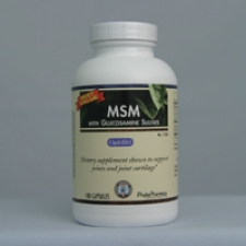 MSM with Glucosamine Sulfate 180