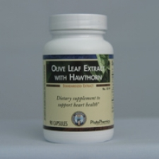 Olive Leaf Extract with Hawthorn (90)
